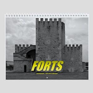 Caribbean Forts Wall Calendar