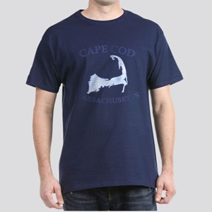 preppy vintage blue cape cod dark t shirt