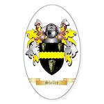 Shelley Sticker (Oval 10 pk)