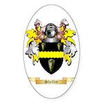 Shelley Sticker (Oval 50 pk)