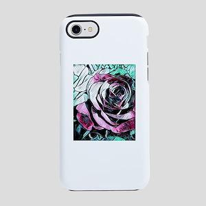 Pretty rose art iPhone 8/7 Tough Case