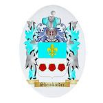 Sheinkinder Oval Ornament