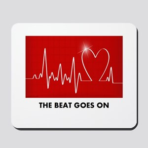 The Beat Goes On - Funny Post-Heart Surgery Mousep