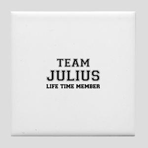 Team JULIUS, life time member Tile Coaster