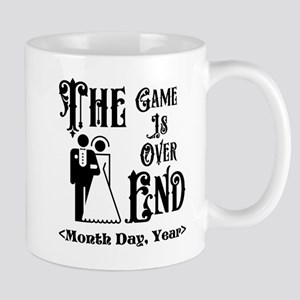 Game Over Getting Married Personalized Mug
