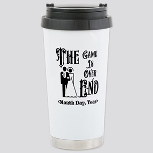 Game Over Getting Marri Stainless Steel Travel Mug