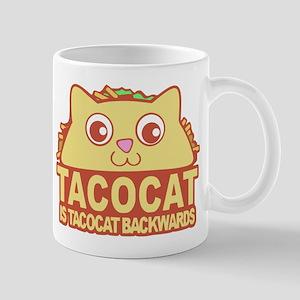 Tacocat Backwards Mugs