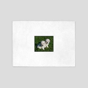 puli puppy 5'x7'Area Rug
