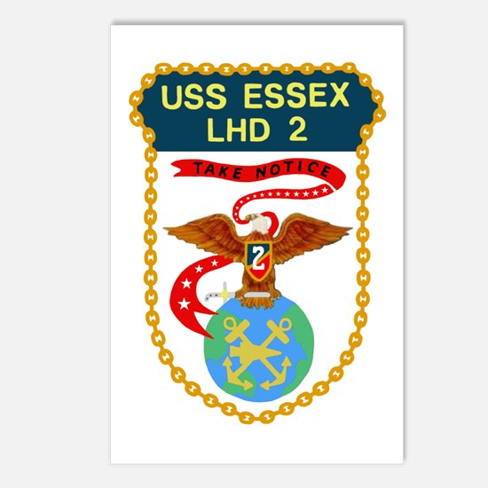 USS Essex (LHD 2) Postcards (Package of 8)