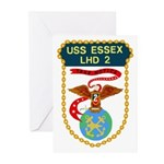 USS Essex (LHD 2) Greeting Cards (Pk of 10)