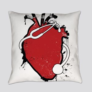 anatomical stethoscope Everyday Pillow