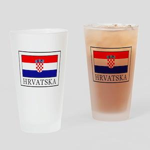 Hrvatska Drinking Glass