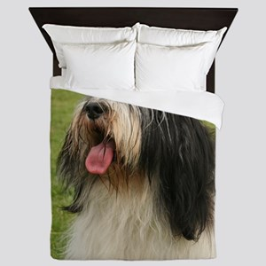 polish lowland sheepdog Queen Duvet