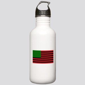 African American Flag Stainless Water Bottle 1.0L