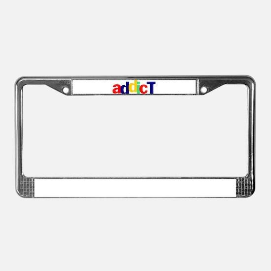 eBay Addict License Plate Frame