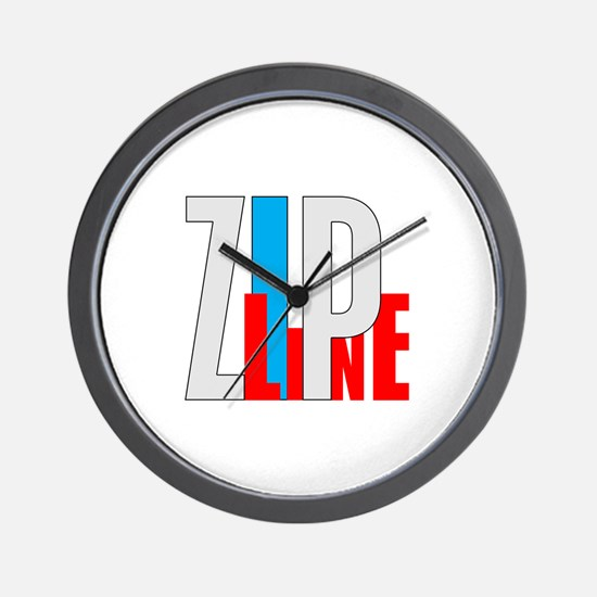 Zipline Wall Clock