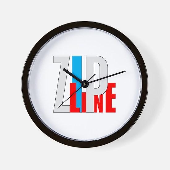 Zipline Wall Clock