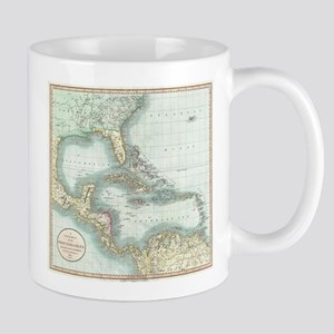 Vintage Map of The Caribbean (1803) Mugs