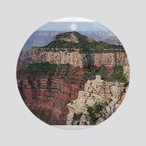 Grand Canyon North Rim, Arizona 2 Round Ornament