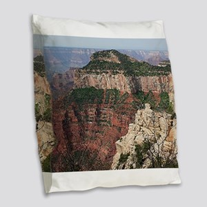 Grand Canyon North Rim, Arizon Burlap Throw Pillow