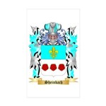 Sheinbach Sticker (Rectangle 50 pk)