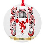 Sheils Round Ornament