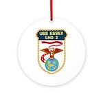 USS Essex (LHD 2) Ornament (Round)