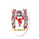 Sheil 20x12 Oval Wall Decal