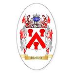 Sheffield Sticker (Oval 50 pk)