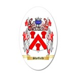 Sheffield 20x12 Oval Wall Decal