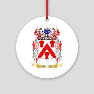 Sheffield Round Ornament