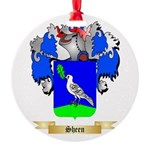 Sheen Round Ornament