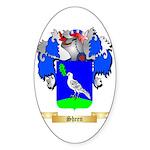 Sheen Sticker (Oval 50 pk)