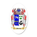 Sheehy Oval Car Magnet