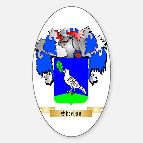 Sheehan Sticker (Oval)