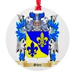 Shee Round Ornament