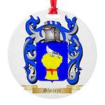 Shearer Round Ornament
