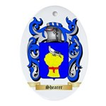 Shearer Oval Ornament