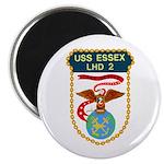 """USS Essex (LHD 2) 2.25"""" Magnet (10 pack)"""