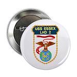 """USS Essex (LHD 2) 2.25"""" Button (100 pack)"""