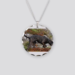 plott hound full Necklace