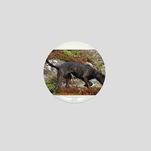plott hound full Mini Button