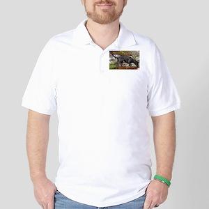 plott hound full Golf Shirt