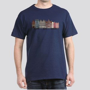 Amsterdam Netherlands Dark T-Shirt