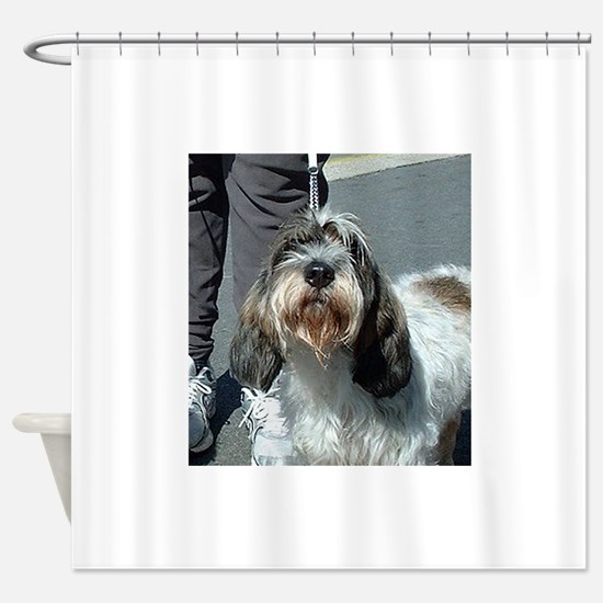 Petit Basset Griffon Vendéen Shower Curtain