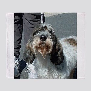 Petit Basset Griffon Vendéen Throw Blanket