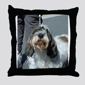 Petit Basset Griffon Vendéen Throw Pillow