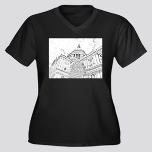 St. Paul's Cathedral London Plus Size T-Shirt