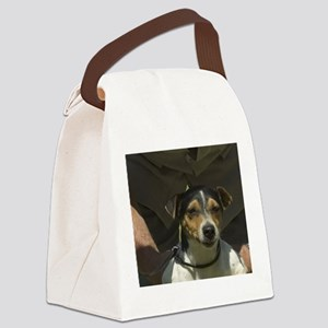 parson russell terrier Canvas Lunch Bag