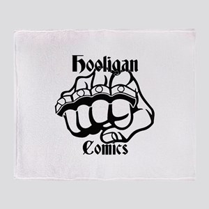Hooligans Logo 1 Throw Blanket